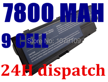 7800MAH laptop battery Replacing for acer Aspire 5910G 5920 5920G 5739G 5739 6530 6935 6920G 6930G 6930 6935G 7720Z Series<br><br>Aliexpress