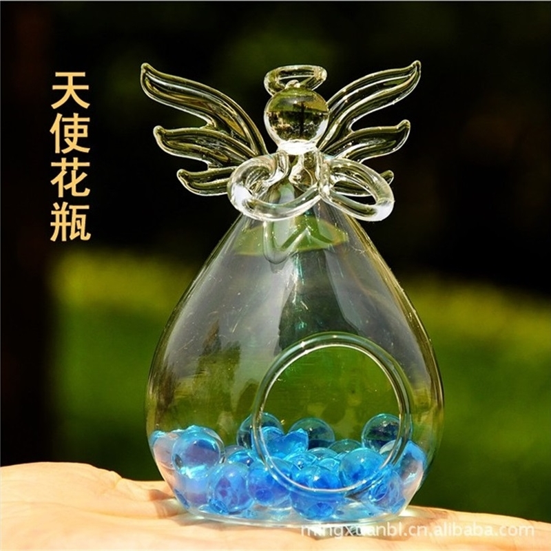 Buy Praying Angel Vase Glass Vase
