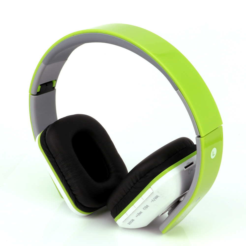 Wireless bluetooth foldable headset glowing big headphones subwoofer fones de ouvido grandes for xiaomi mobile phone PC computer<br><br>Aliexpress