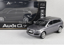 Free shipping 1:18 Audi Q7 remote control race car simulation models rc car electric for kids gift 3colors