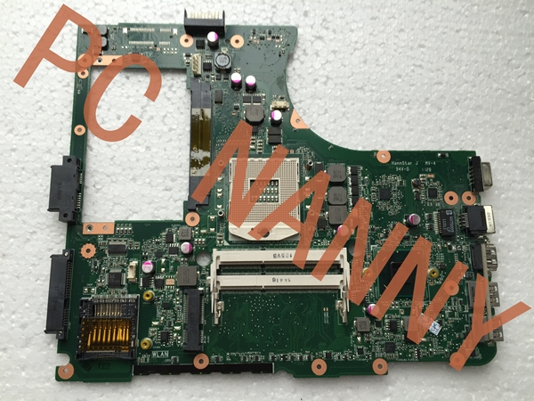 Original Laptop Motherboard for ASUS N55SF REV 2.0 PGA-989 HM65 DDR3 with graphics slot full Tested(China (Mainland))