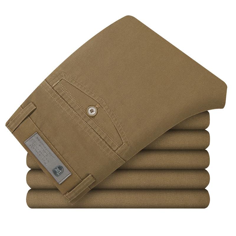 10 Color Size 29-40 100% Cotton Fashion joggers Men Casual Pants men's clothing Black Khaki pants trousers Autumn Summer B0001(China (Mainland))