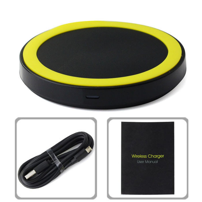 Charging Pad Wireless Charger for SAMSUNG Galaxy S6 G9200 S6 Edge G9250 G920f for Nokia Lumia 920 HTC 8X LG Nexus4/5/6