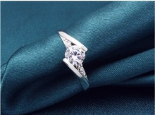 Promotional Product Wholesale Price New Style Hot 2015 Fashion 925 Silver Ring Jewelry for Woman Wedding
