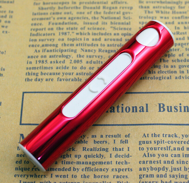 Ms lightweight cylindrical environmentally friendly rechargeable electronic cigarette lighter USB charging lighter Men