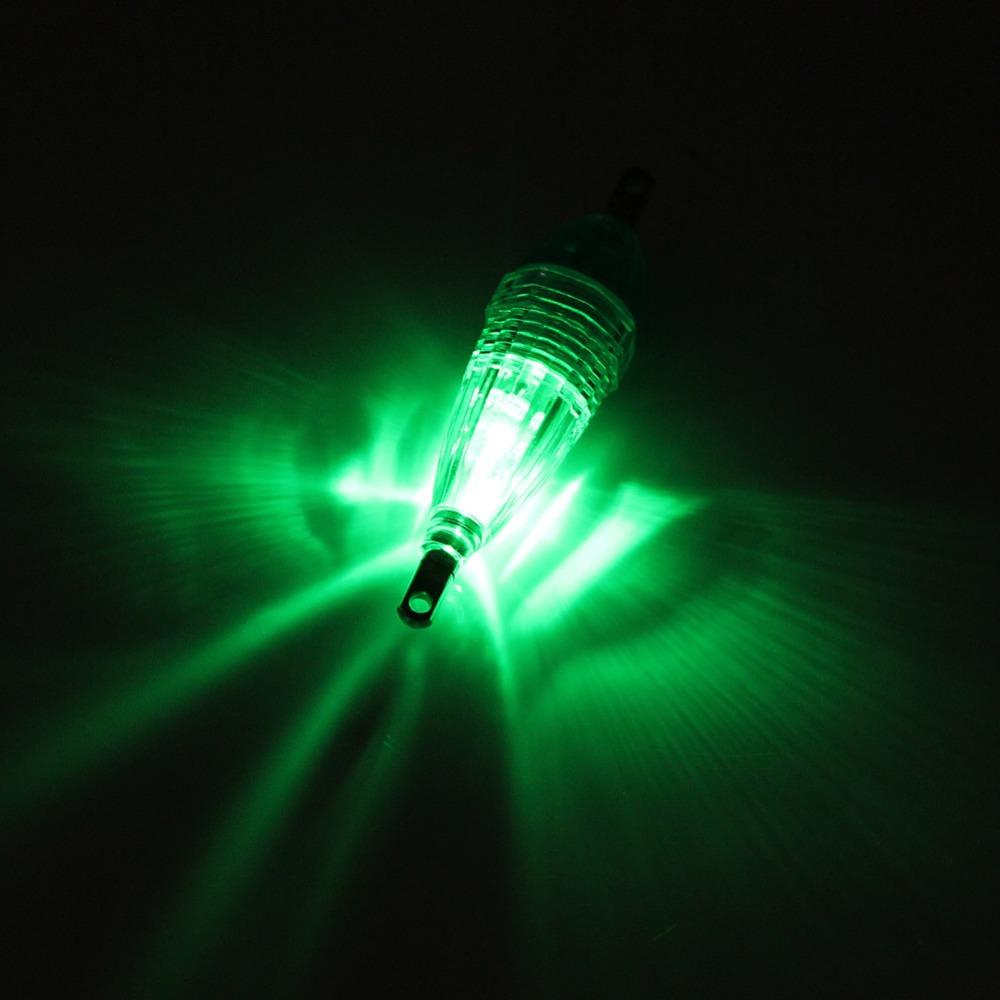 Z101 mini led deep drop underwater fishing squid fish lure for Underwater green fishing lights