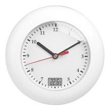 NEW Thermometer Bathroom Wall Clocks Waterproof Analog Bathroom Clock  Suction Cups Temperature Sensor Digital Wall Shower