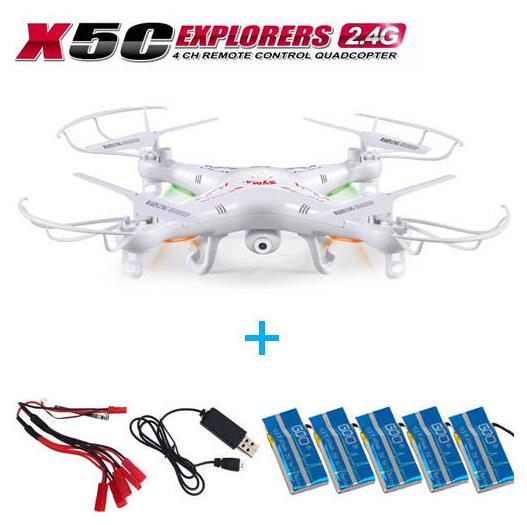 Syma X5C Explorer 2.4G 4CH 6Axis Gyro RC Quadcopter Aerial HD Camera RTF TF