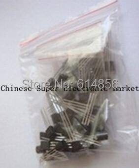 S9012 S9013 S9014 A1015 C1815 S8050 S8550 2N3904 2N3906 A42 A92 A733,17valuesX10pcs=170pcs,Transistor Assorted Kit(China (Mainland))