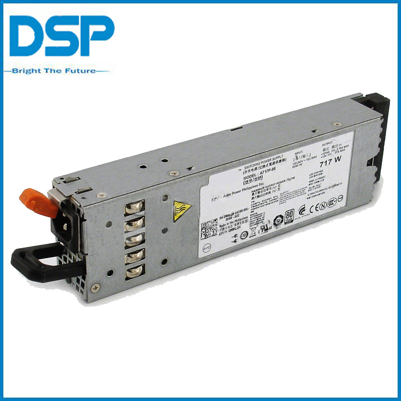 Original For Dell MP126 PowerEdge R610 Power Supply Unit 717W MP126 0MP126 A717P-00(China (Mainland))