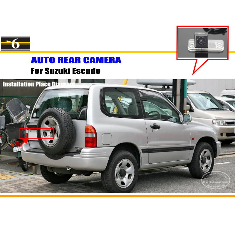 For Suzuki Escudo / Lapin / Palette / XL7 - Car Rear View Camera / Back Up Reverse Parking Camera / HD CCD Rearview(China (Mainland))