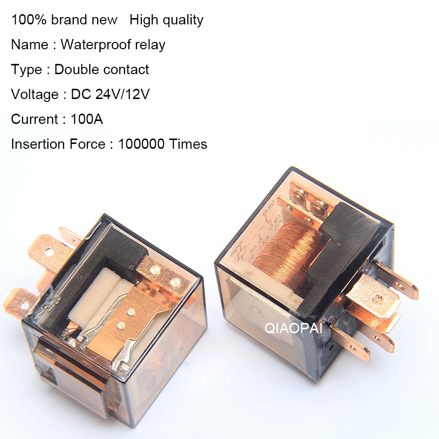 Detail Feedback Questions About Universal Automotive 12vdc 24vdc Relay Contact Voltage 1pair