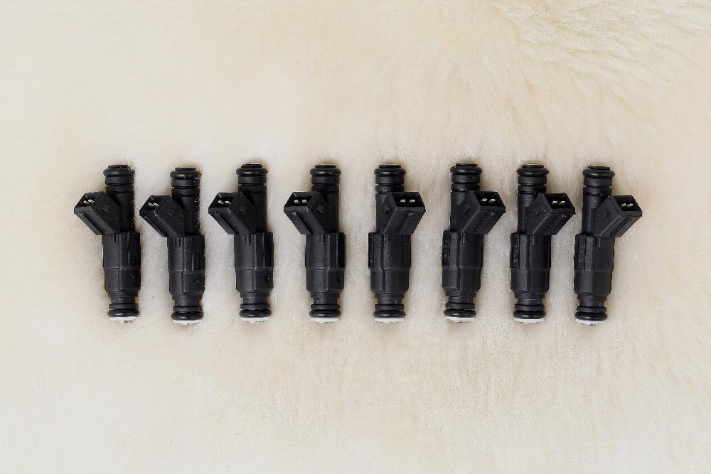 Set of 8 New 60lb EV1 Style Fuel Injectors for Deka IV Camaro Corvette GTO Firebird Trans Am 650cc(China (Mainland))