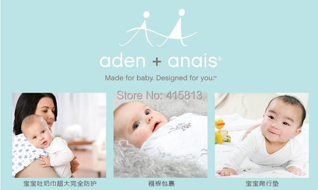 Бесплатная доставка Аден anais многофункциональный большой измерение ребенка полотенцем ...