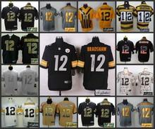 Signature Edition 100% Elite men Pittsburgh Steelers 12 Terry Bradshaw(China (Mainland))