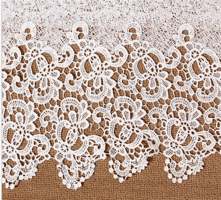 XF2016060063-3 High Quality Guipure Embroidery Lace Trim Fabric,DIY Sewing Garment Accessories Quilting Dress Meterial(China (Mainland))