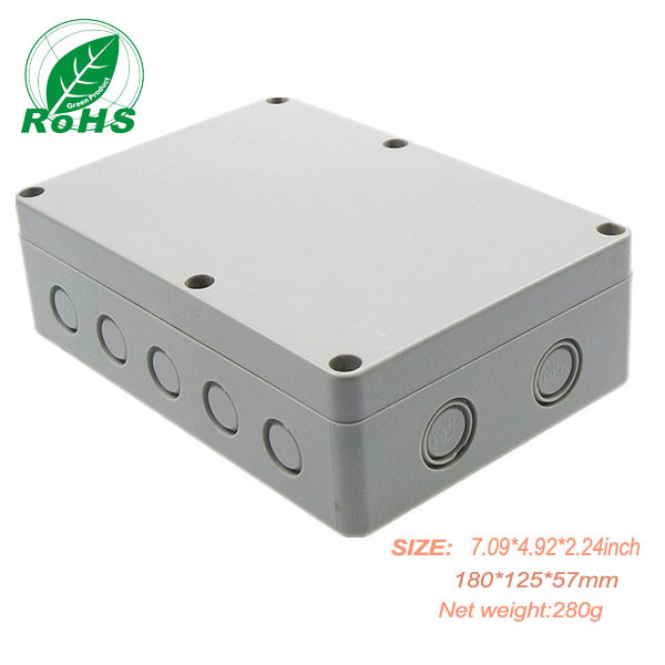 XDW01-2 china eletronic plastic enclosures for electronics 180*125*57mm 7.09*4.92*2.24inch(China (Mainland))