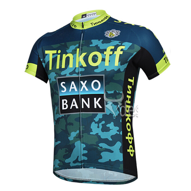 Saxo Bank Tinkoff Team Quick-Dry Cycling Jersey/Summer Breathable Bike Jersey Sportswear/Bicycle Clothing Cycling Clothing 2016(China (Mainland))