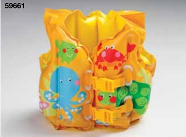 Genuine INTEX59661 children's life jacket swimming vest baby's life jacket wholesale(China (Mainland))