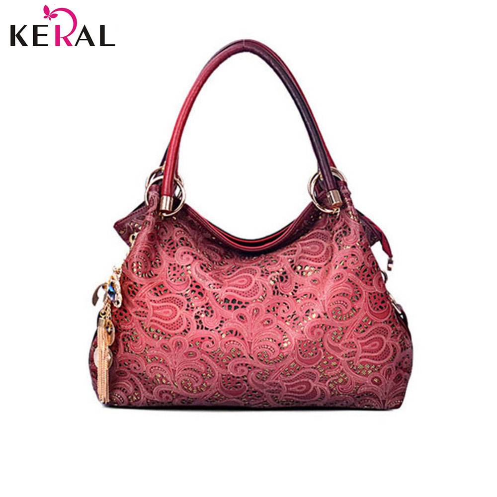 Hot Casual PU Leather handbag bag fashion leisure shoulder hollow out a woman messenger bag dinner packages C1066(China (Mainland))