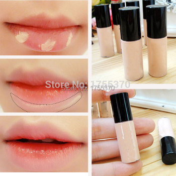 Free Shipping Hide Blemish Silky Liquid Cream Concealer Lip Dark Eye Circle Cover Concealer Stick Long Lasting Moisture