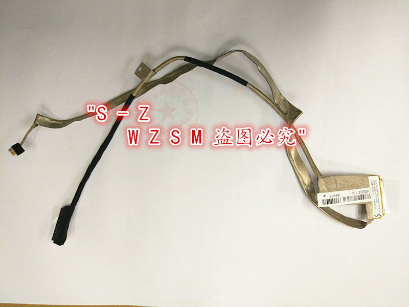 Computer Cables Laptops Replacement LED Screen Display LVDS Cable Fit For Toshiba C50-A C50D-A H000047160 1422-01F7000 VC960 P51(China (Mainland))