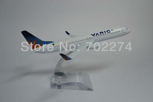 Free Shipping,Brazil Airline,B737-800 VARIG,16cm,metal airplane models,airplane model, airbus prototype machine,