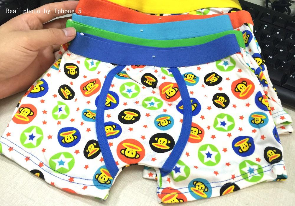 5 Pcs/lot Kids Boys Underwear Boy Underware Kawaii Cotton Children's Pants Soft Cartoon Baby Boxer Underpants Briefs 3-13 Year