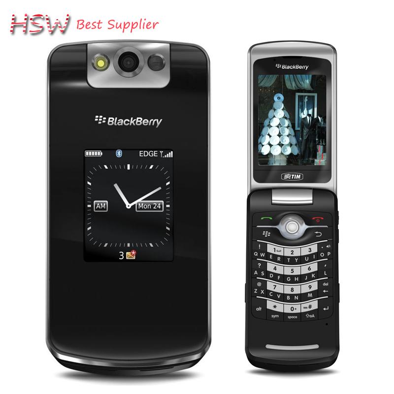 "directly selling 100% Original Blackberry 8220 Pearl Flip Mobile Phone 2.6"" TFT Screen 2.0MP Camera GSM WIFI Refurbished(China (Mainland))"