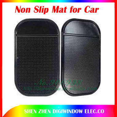 Promotion Powerful Silica Gel Magic Sticky Pad Non Slip Mat for iphone Phone car Nano mats Free Shipping anti-slip mat 5pcs/lot(China (Mainland))