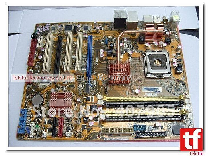 Motherboard for Asus P5K P35 775 E5200 45nm PC(China (Mainland))