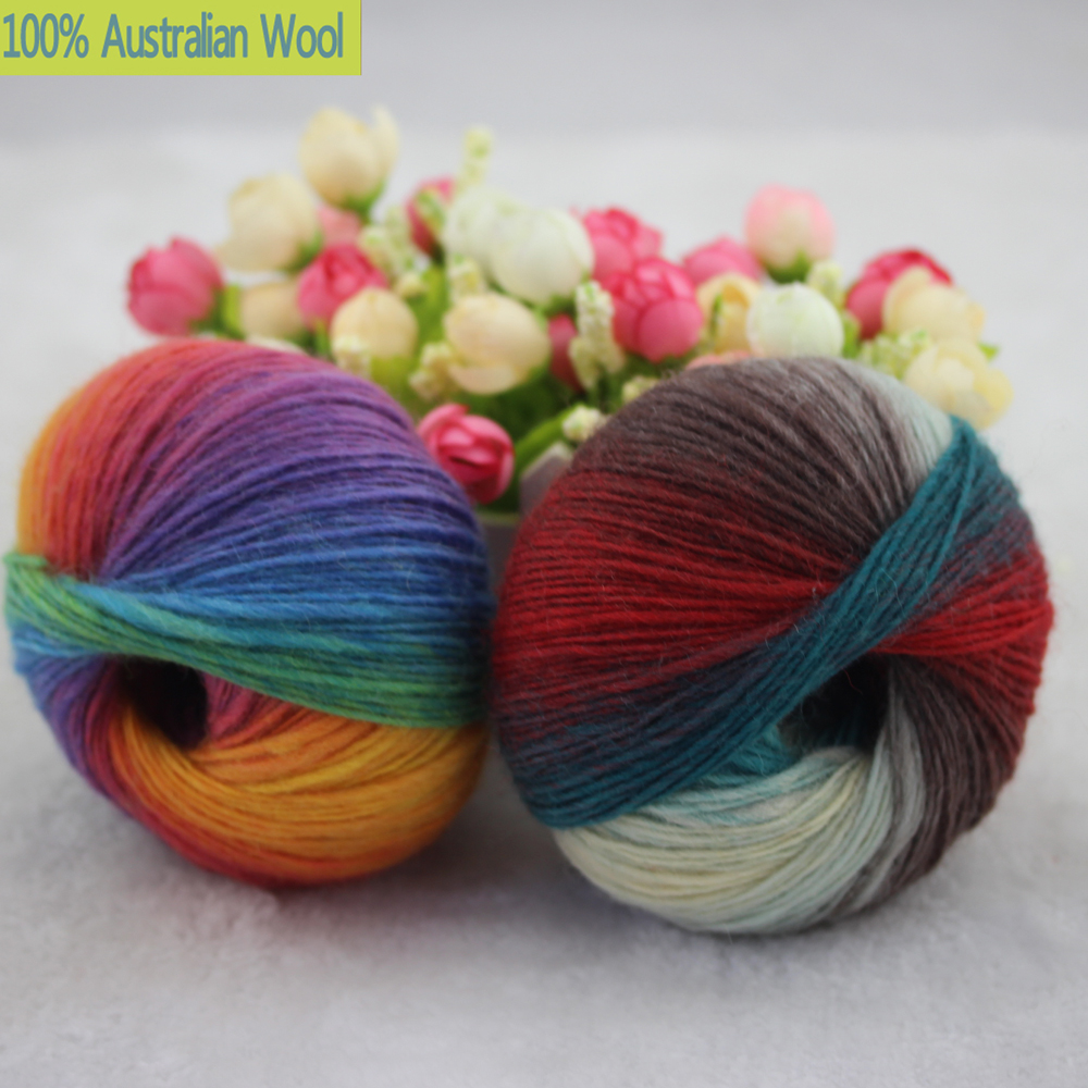 Hand Knitting Yarns : Aliexpress buy g lot luxury quality wool
