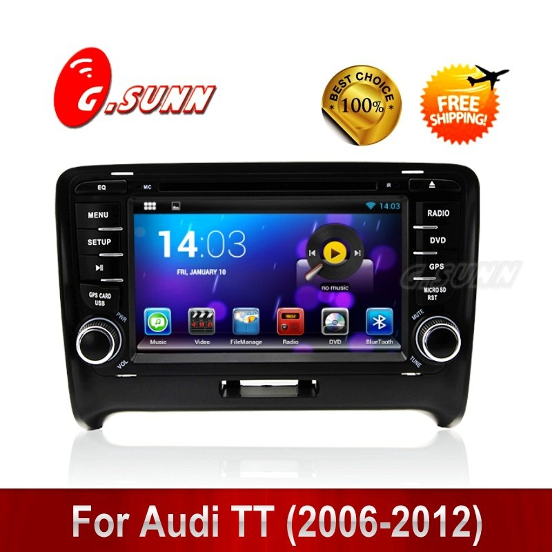 1080P Dual Core Android 4.4.2 Car DVD Player GPS Navi PC for Audi TT (2006-2012(China (Mainland))
