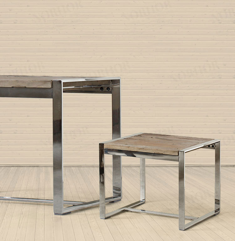 american country classic retro mining pa guda coffee wood stainless  furniture e