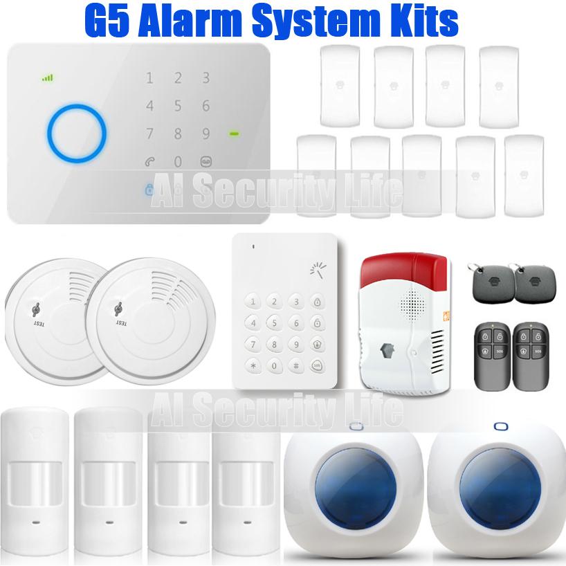 415kit universal 315Mhz CHUANGO G5 GSM SMS Home Burglar Security Alarm System(China (Mainland))