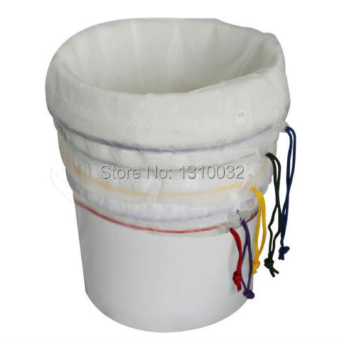 All Mesh Bubble Bags 5 Gallon 5 Bag Kit Herbal Ice Extractor Hash Essence Shampo filter bag herb extraction bag(China (Mainland))