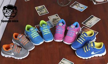 2015 весна спорт для детей обувь для мальчиков и девочек детские кроссовки мода кроссовки брендовая обувь sapatos размер : 25-37