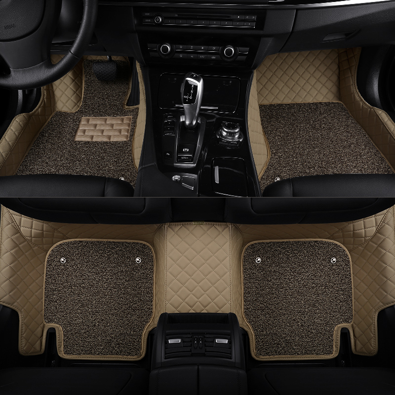 Custom Fit Car Floor Mats For Subaru Outback Forester XV Legacy Tribeca Car Mat PVC Leather Interior Accessories Auto Carpet Set(China (Mainland))