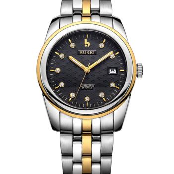 Здесь можно купить  BUREI watch Geneva Automatic watches men luxury brand sport dress business Fashion Casual watch  S02  5010  Часы