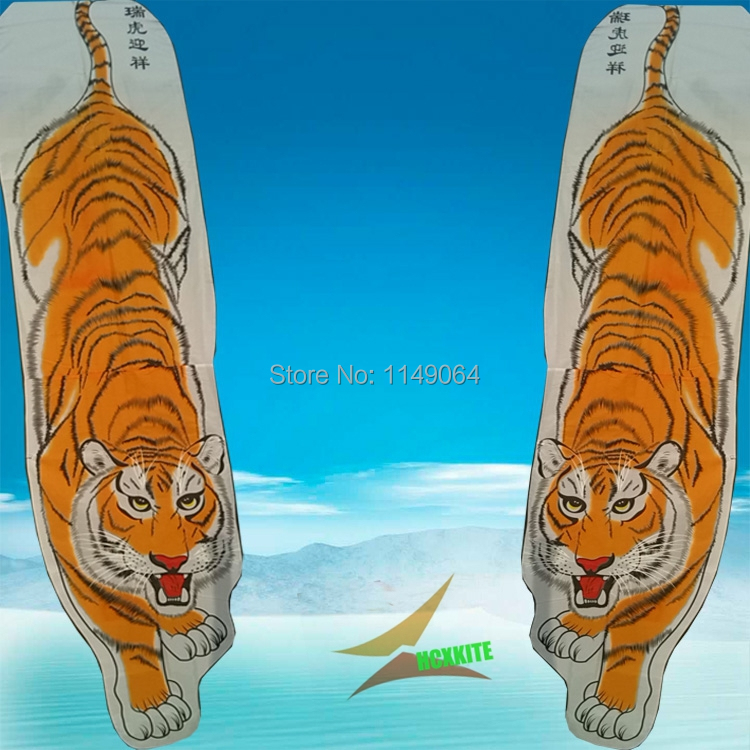 free shipping high quality 2m tiger kite flying with handle line outdoor toys weifang kite animal kites hcxkite factory <br><br>Aliexpress