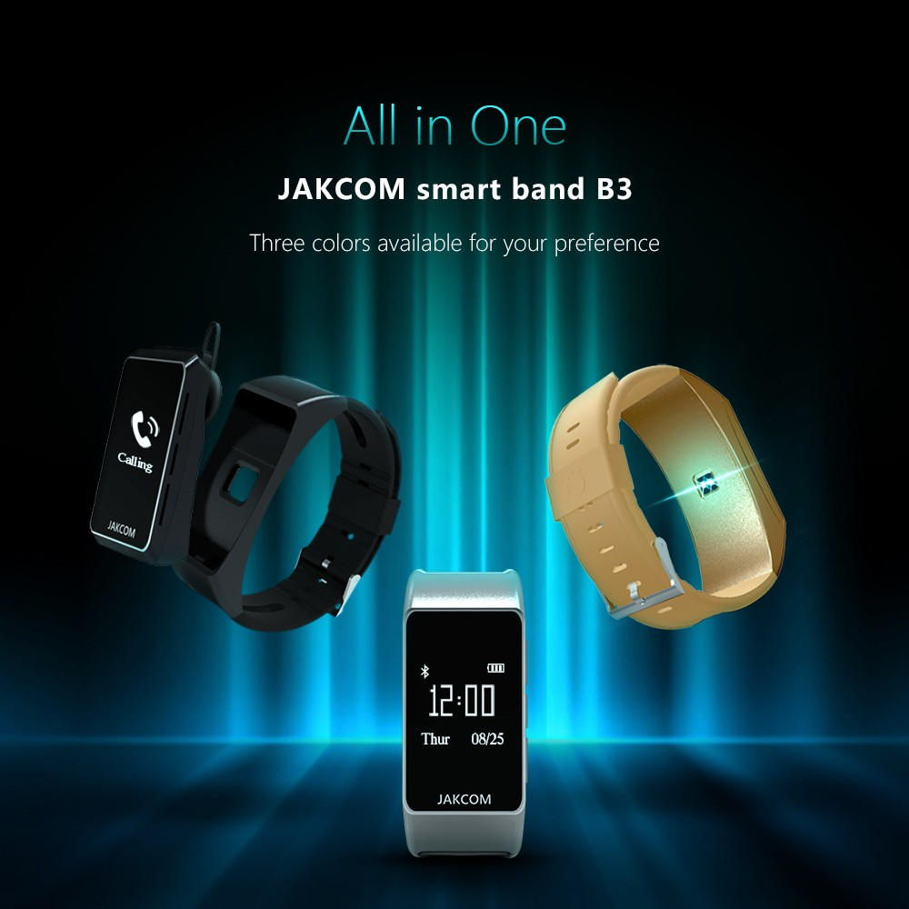 Jakcom B3 Smart Band New Product Of Smart Electronics Accessories As For Xiaomi Smart Band 2 Accesorios Polar M450 Mifit