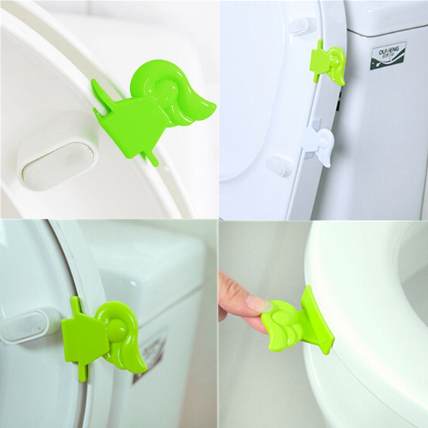 New Hot Sales Original Home Sanitary Toilet Seat Pad Cover Lifter Lift Raise Lower Seat The Clean Way(China (Mainland))