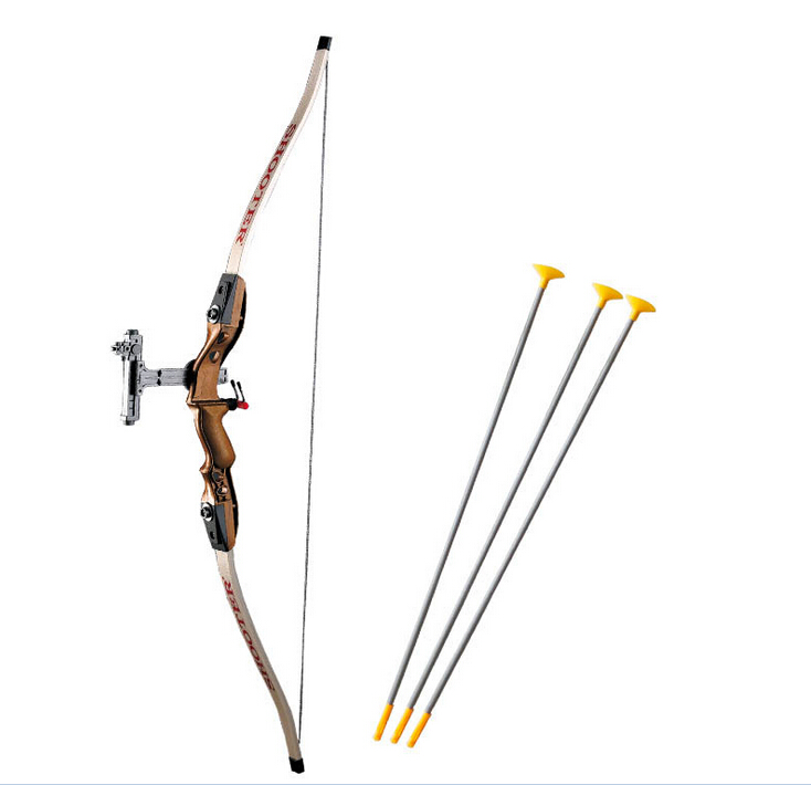 Children simulation brown Recurve send sucker arrows children gift