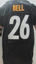 Men's 7 Ben Roethlisberger 25 artie burns 26 Le'Veon Bell 43 Troy Polamalu 50 Ryan Shazier 84 Antonio Brown elite jerseys(China (Mainland))