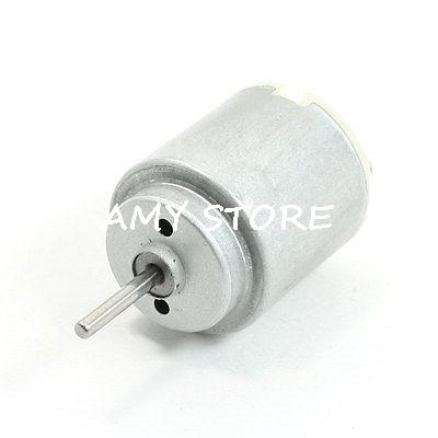 DC3-5V 8000-10000RPM 2 Pin Terminal DC Motor for DIY Toys Cars Hobby R140(China (Mainland))