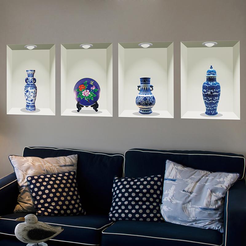 Online kopen wholesale porselein stickers uit china for Interieur decoratie groothandel