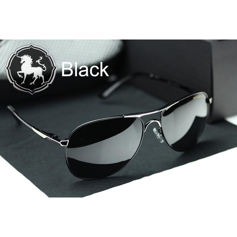 High Quality Brand Designer Cool Polarized Sports Men Aviator Sunglasses UV Protect Sun Glasses Free Shipping(China (Mainland))