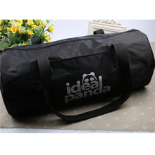 High Quality Cylindrical Sports Bag Mulifucntional Duffel Shoulder Fitness Bags AC04