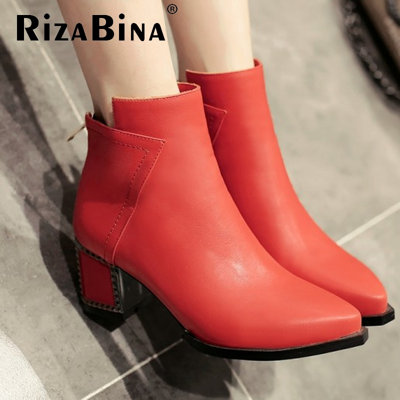 size 31-43 women high heel ankle boots half short boot martin autumn winter botas fashion footwear quality heels shoes P20529<br><br>Aliexpress