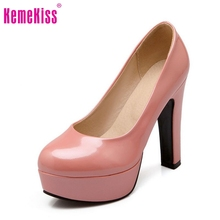 women stiletto high heel shoes sexy lady platform spring fashion heeled pumps heels shoes plus big size 31-47 P16738(China (Mainland))